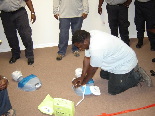 CPR Training Tampa and Bahamas